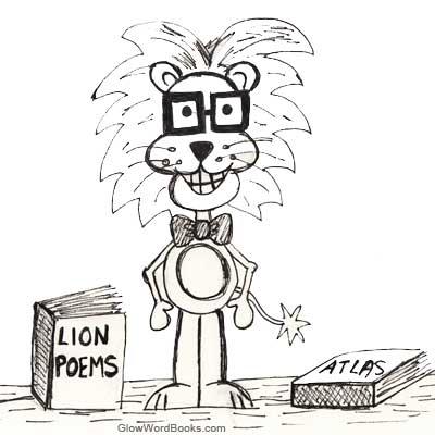 Short Kids Poem Lion Library